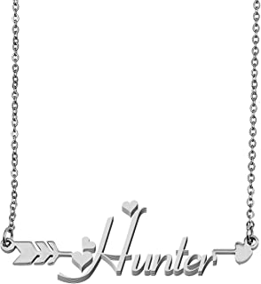 Customized Custom Name Necklace Personalized - Custom Made Any Name Necklace Initial Monogrammed Gift for Womens Girls