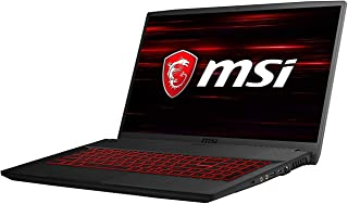 MSI 9S7-17F212-089 17.3 inches LCD/LED Gaming Laptop (Black) - Intel i7-9750H 5 GHz, 16 GB RAM, 256 GB Hybrid (HDD/SDD), NVIDIA GeForceGTX 1650, Windows 10 Home