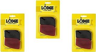 Lodge Polycarbonate Red and Black Pan Scraper, Set of 6