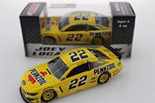 Lionel Racing, Joey Logano, Pennzoil,2019, Ford Mustang, NASCAR Diecast 1: 64 Scale