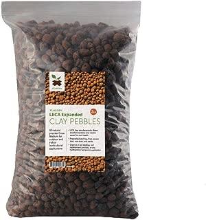 xGarden 2 lbs LECA Expanded Clay Pebbles - Horticultural Grade for Soil Hydroponics Aquaponics (Renewed)