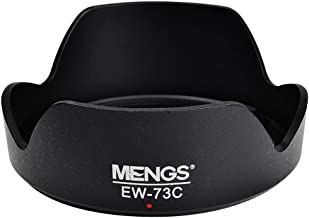 MENGS EW-73C 67mm Lens Hood ABS for Canon EF-S 10-18mm f/4.5-5.6 is STM
