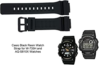 35d7ead5f Casio 10410723 Genuine Factory Replacement Band - AEQ110BW, AEQ110W,  AQ-S810W, W735H