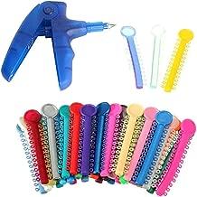 Orthodontic Ligature Ties Multi-Color(1040 Pcs/Bag) and Orthodontic Ligature Gun Tools Blue Color