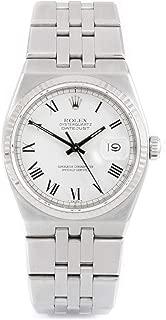 Oysterquartz Swiss-Quartz Male Watch 17014 (Certified Pre-Owned)