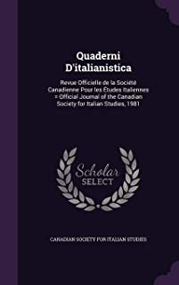 canadian society for italian studies