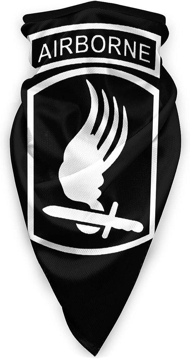 SLHFPX US Army 173Rd Airborne Brigade Veteran Balaclava WoHeadband Scarf Bandana,Muffler,Neck Gaiter,Magic,Headwrap Headwear