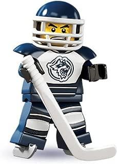 Jugador de hockey de minifiguras de colección LEGO serie 4