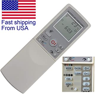 CHOUBENBEN Replacement Remote Control for Electrolux CRMC-A717JBEZ ESD30HRA ESD24HRA CRMC-A718JBEZ Split Type Room Air Conditioner