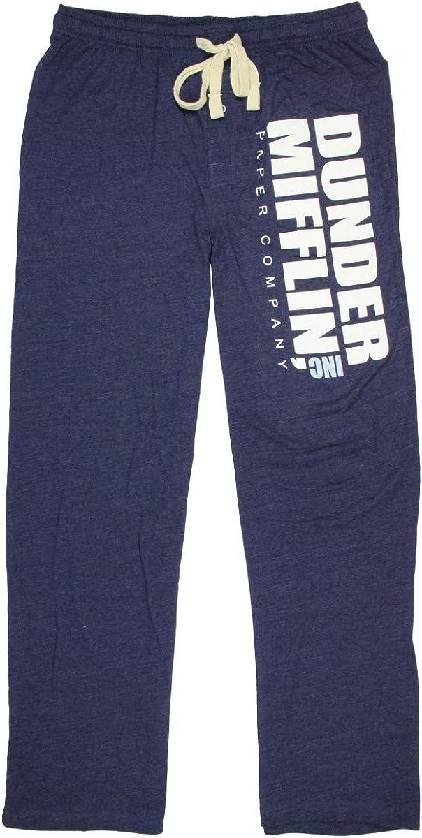 Seven Times Six The Office Men's Dunder Mifflin INC Paper Company Logo Lounge Pants