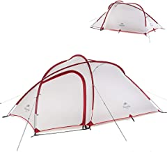 Naturehike Hibby 2-3 Person Tent 4 Season with Screen Room,Easy Set Up Family Backpacking Tent Waterproof Windproof forOu...