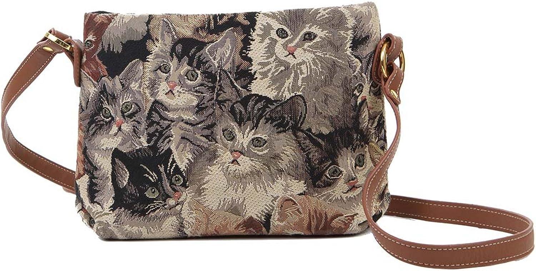 Signare Modische Tapisserie Damen Schultertasche, Bodybag Bodybag Bodybag oder Messengertasche Tier B007I118P0  Leicht zu reinigende Oberfläche 5bfcc7