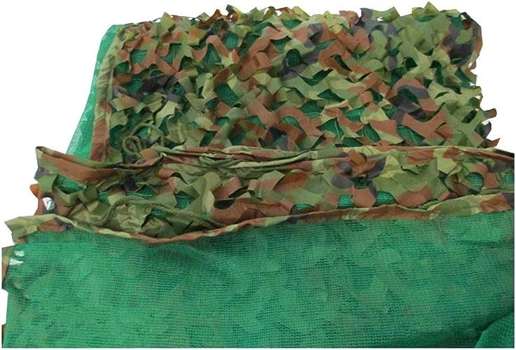 YANGJUN-Filet De Camouflage Tissu Oxford Corde en Nylon Crème Solaire Ombre Camouflage Herbeux Plusieurs Tailles Personnalisable 3 Couches (Couleur   Vert, Taille   4x6m)