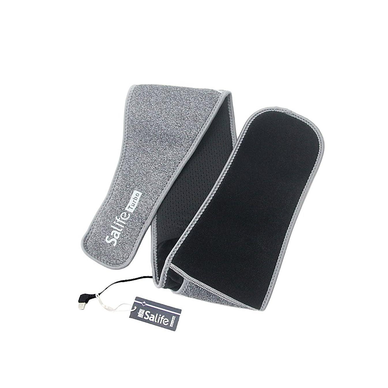 北極圏ビット冷淡なWORBEST SMART BELT 知能灸塩ベルト 三段階温度調節 USB充電式 遠赤外線発熱 冷え性対策 ストレス解消 腰痛 お腹温める ダイエット