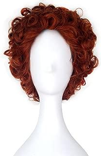 Miss U Hair Short Curly Hair Reddish Brown Boy's Unisex Movie Cosplay Wig C351