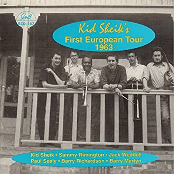 Kid Sheik's First European Tour 1963