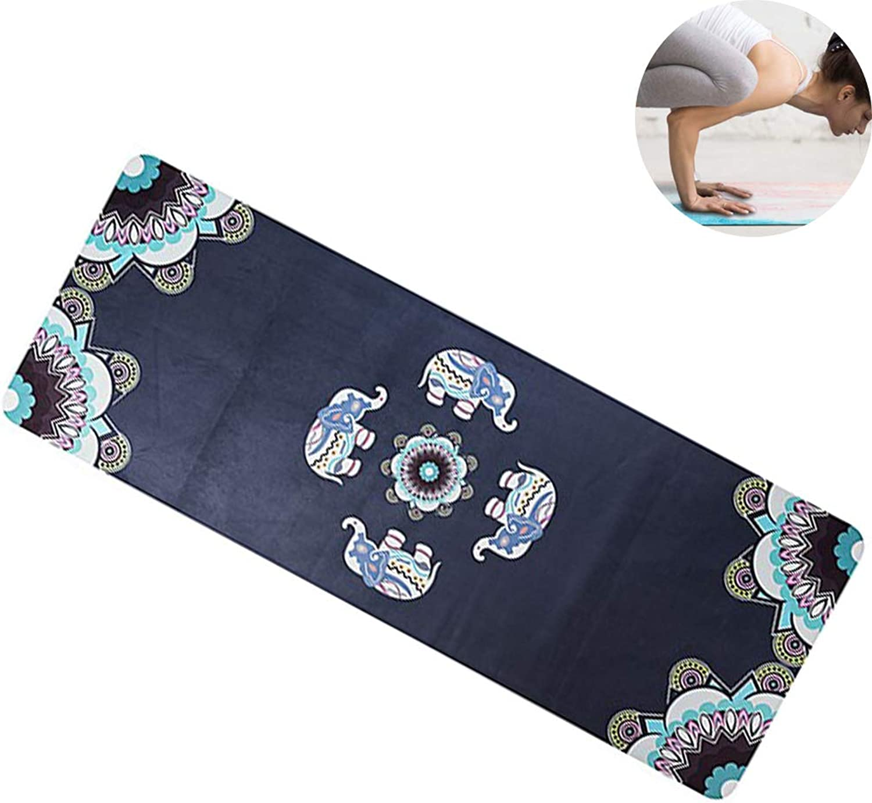 CWDXD Yogamatte Fitness Gymnastikmatte Erstklassige, gepolsterte Matte     6 mm dick, Rutschfest und Tragetasche     Hervorragend geeignet für Heimgymnastik Pilates Fitnessübungen,Wisdom