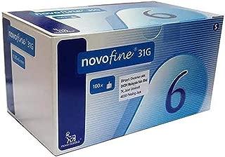 Novofine 6mm x 31g 100ct