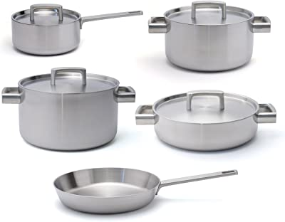 Amazon.com: Emeril Lagasse 15-Piece Stainless Steel Cookware Set ...