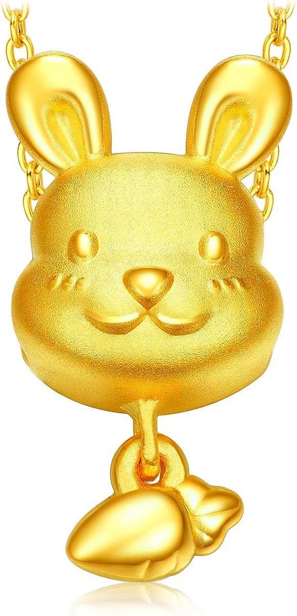 CHOW TAI FOOK 999 24K Gold Chinese Zodiac Pendant/Charm