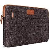 DOMISO 10.1 Zoll Laptophülle Hülle Etui Tasche Notebook Schutzhülle Canvas-Gewebe für 12