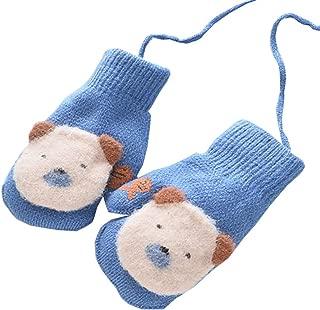 Toddler Baby Boy Girl Warm Winter Mittens Gloves with Plush Lining, Cartoon Gloves #82