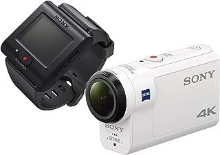 ソニー SONY ウエアラブルカメラ アクションカム 4K+空間光学ブレ補正搭載モデル(FDR-X3000R) ライブビューリモコンキット
