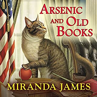 Arsenic and Old Books audiobook cover art