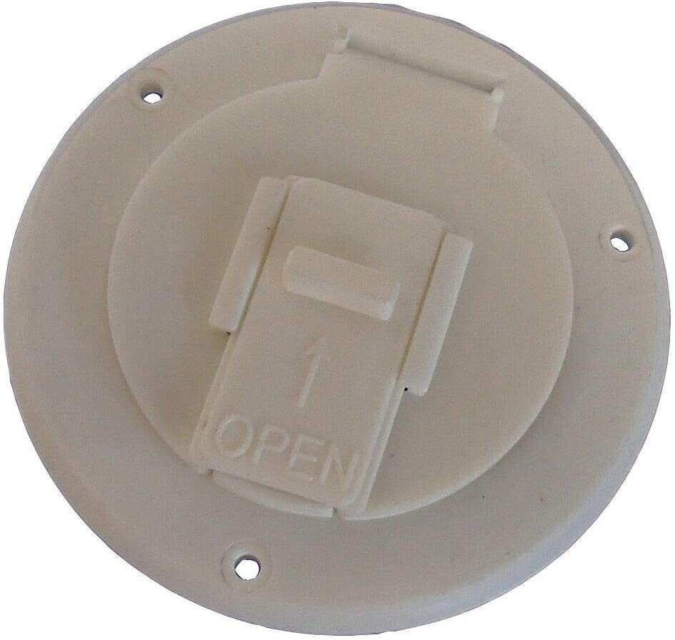 Special Campaign 5412 Power Cord Over item handling ☆ Hatch Cover for Cable Camper RV 30 Amp Trailers