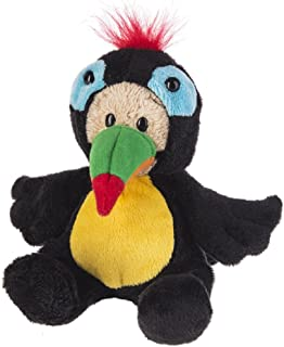 G Ganz Kids Wee Bears Plush Teddy Toy 6 inches - Toucan