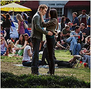 The Vampire Diaries Nina Dobrev Caressing Paul Wesley's Face 8 x 10 inch Photo