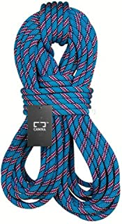 JINLINE Climbing Rope Power Rope Lifeline Speed Drop Rope Diameter 9.8/10.5mm Length 10-100m Blue Ropes (Size : 10.5mm 100m)