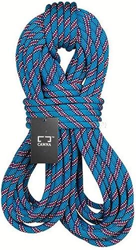 YYHSND Corde d 'Escalade Corde d ' Alimentation Corde de sécurité Vitesse Diamètre de la Corde de Chute 9.8 10.5mm Longueur 10-100m Bleu Corde d'alpinisme (Taille   10.5mm 10m)
