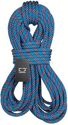 QARYYQ Corde d 'Escalade Corde d ' Alimentation Corde de sécurité Vitesse Diamètre de la Corde de Chute 9.8 10.5mm Longueur 10-100m Bleu Cordes (Taille   9.8mm 10m)