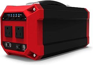 HJGHY Generador Solar Portátil 270Wh / 73000mAh Generador Solar de Onda Sinusoidal Pura Batería de Reserva de Emergencia AC 300W Enchufe Puerto USB Y DC para Acampar Al Aire Libre