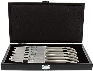Pradel Excellence 7620-6 - Cuchillo de Carne, Color Plata
