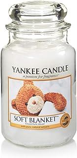Yankee Candle bougie jarre parfumée   grande taille   Couverture douce   jusqu'à 150 heures de combustion
