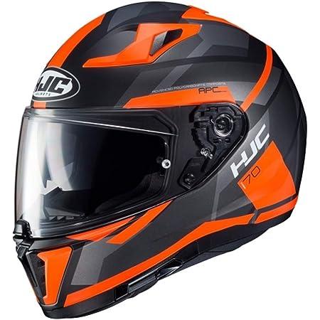 Hjc Helmets Herren Nc Helmet Schwarz Orange Xs Auto