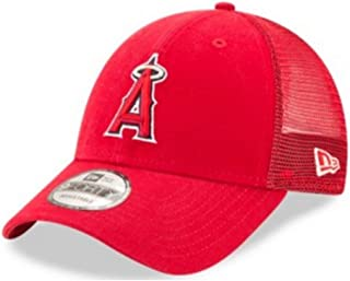 New Era MLB Anaheim Angels Baseball Hat Cap 940 Trucker Snapback 11591216