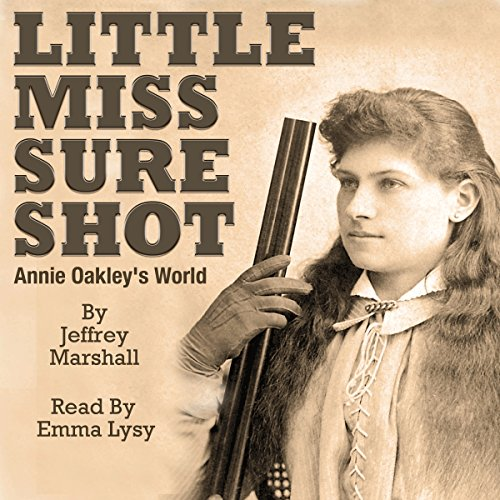 Little Miss Sure Shot audiobook cover art