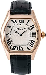 Cartier Tortue Automatic-self-Wind Male Watch 2763J (Certified Pre-Owned)