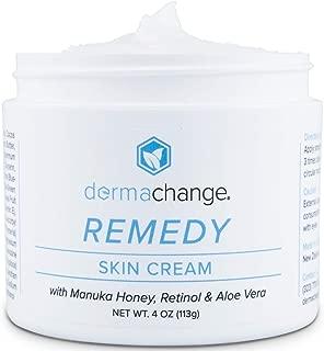 Tightening and Moisturizing Skin Cream - With Retinol, Manuka Honey & Aloe Vera – Great for Redness, Skin Rashes, Eczema & Wrinkles - Anti Aging - Organic Ingredients - (4oz) – Made in USA
