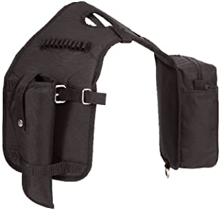 Colorado Saddlery The Ultra Rider Black Horn Bag with Detachable Holster