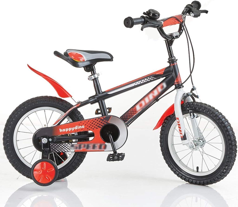 Xiaotian Vélos pour Enfants de Jardin en Plein air Vélo de Voyage pour Enfants Vélo pour Enfants adapté aux Garçons et aux Filles 12 14 16 Pouces