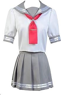 Love Live!Sunshine!Aqours Takami Chika Cosplay Costume Suit Dress Uniform