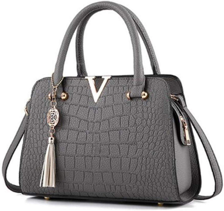 Wangkk Frauen Umhängetasche Quaste Leder Handtaschen Schulter Schulter Schulter Crossbody Handtasche Female   Bag, Braun B07MRKCTHT  Rabatt 1b4a3c