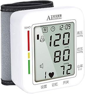 Tensiómetro de muñeca,Monitor Portátil De Presión Arterial Alta Precisión Y Fiabilidad con Función De Memoria Y Pantalla Digital De LCD,Memoria (2 * 99)