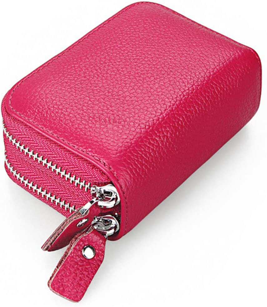 Womens Bifold Multi Max 84% OFF Popular products Card Case Thin QB0 Wallet Zipper Pocket with