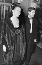 Vintage photo of Marina Vlady with husband Jean-Claude Brouillet