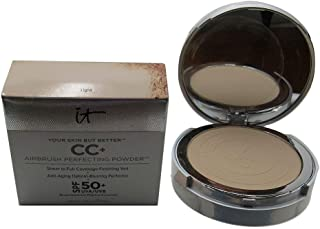 It Cosmetics Your Skin But Better CC+ Airbrush Perfecting Powder SPF50 - Light